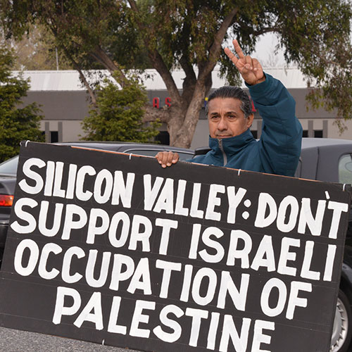 Silicon Valley: Don't Support Israeli Occupation of Palestine