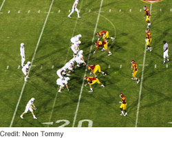 Oregon Ducks v. USC Trojans :: Credit Neon Tommy