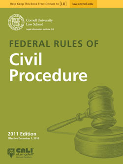 Free Federal Rules E-Books from CALI and LII — Justia Law