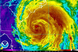 Hurricane Irene - Credit: NOAA