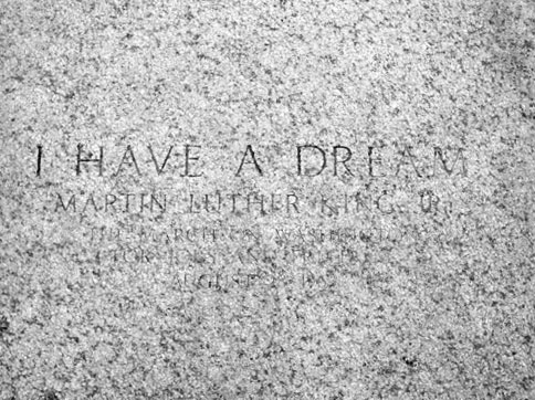 Dr Martin Luther King Jr Plaque At The Lincoln Memorial Justia