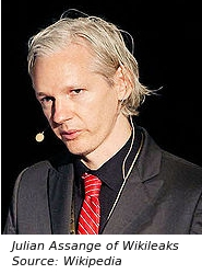Julian Assange, Wikileaks Editor-in-Chief and Founder