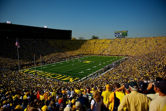 Michigan Stadium - UM v MSU 2010
