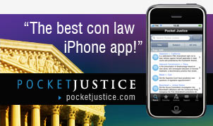 'The best con law iPhone app!' - PocketJustice