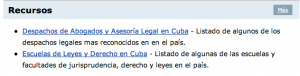 Justia Cuba Legal Resources