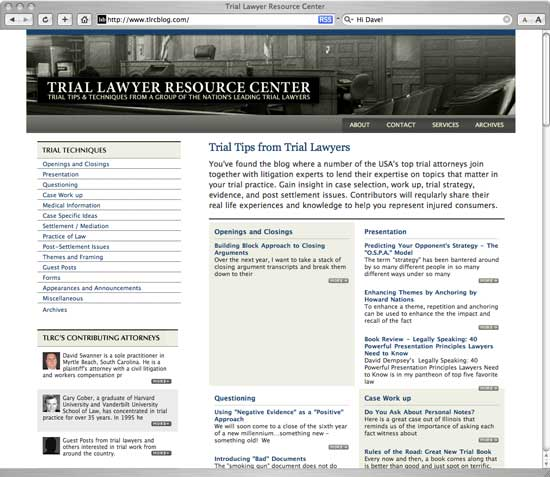 Trial Lawyer Resource Center