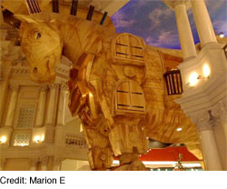 Trojan Horse by Marion E (sjsharktank on flickr)