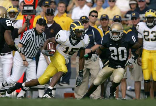 Notre Dame v. Michigan - September 16, 2006