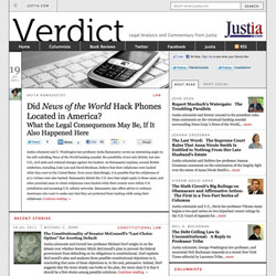 Verdict Legal Commentary and Analysis